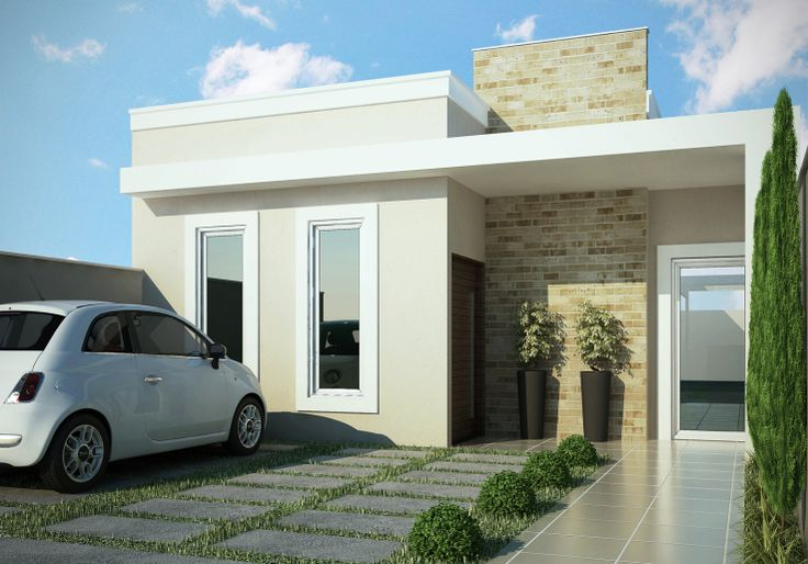 imagenes de fachadas de casas pequeñas | Diseño de interiores