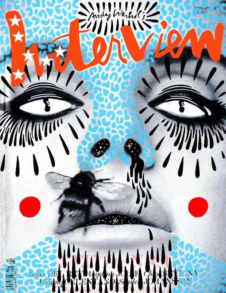 Hattie Stewart doodle bombs INTERVIEW MAGAZINE