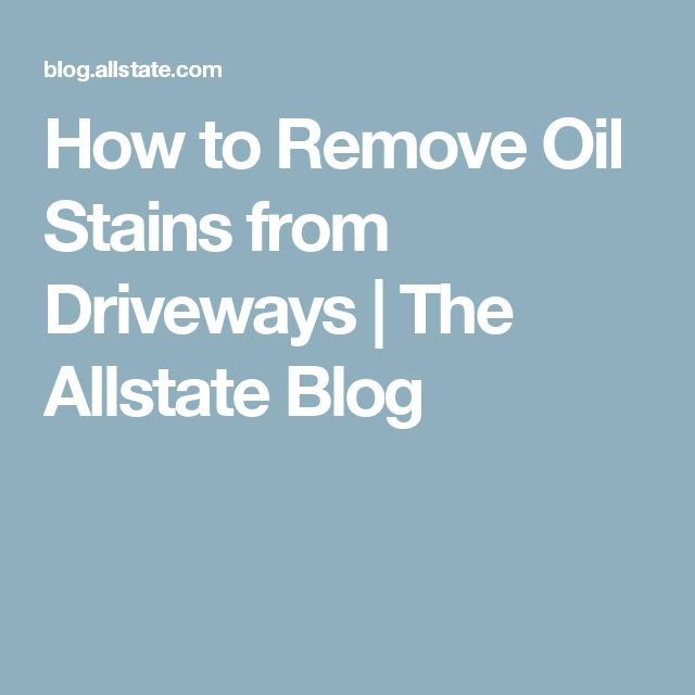 1000 ideas about remove oil stains on pinterest oil for Motor oil stain removal from concrete