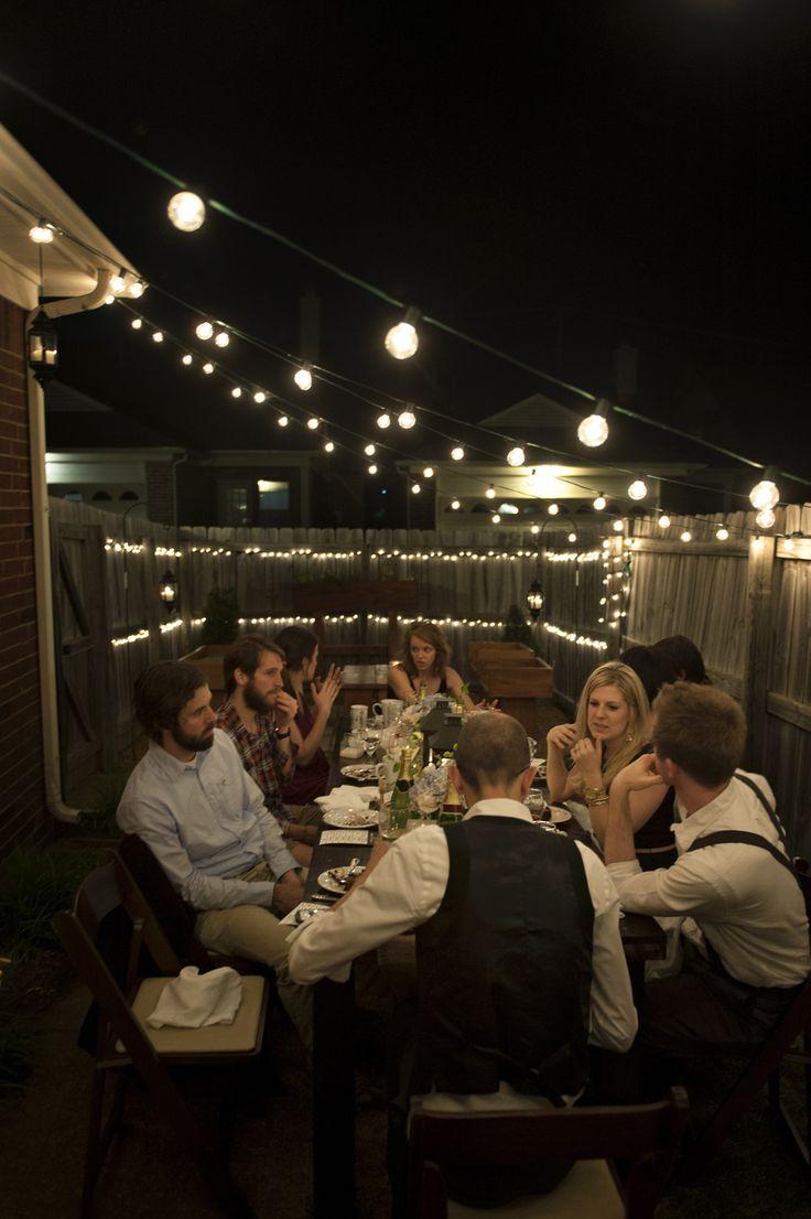Al Fresco Birthday Dinner Party