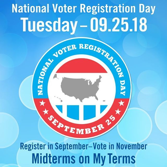 Friendly Reminder To Make Sure You Are Registered To Vote It S Pretty Quick And Painless But It S So National Voter Registration Day Voter Registration Voter