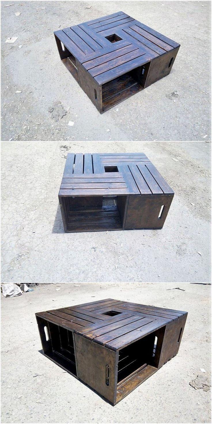 Einfaches hausfarbendesign draußen  wonderful diy pallet furniture ideas and projects