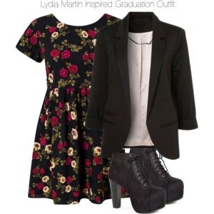 Teen Wolf - Lydia Martin Inspired Graduation Outfit