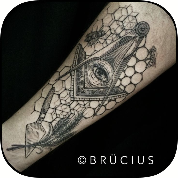 Freemason Brücius Tattoo