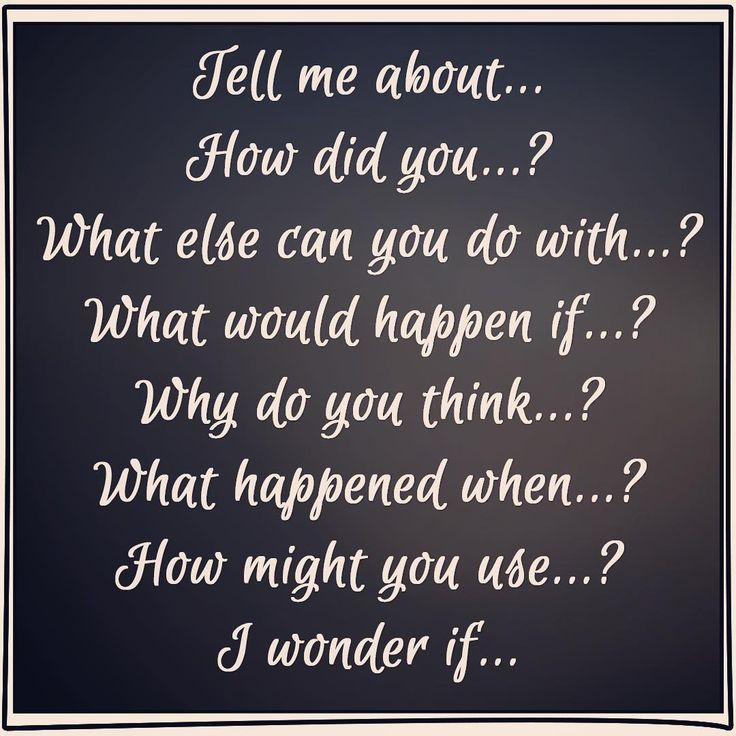 Open ended question starters to use when joining children in play.  #positiveinteractions #preschool #learningthroughplay #communitybuilding #teaching #earlychildhoodeducation