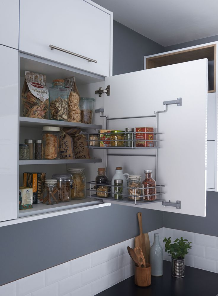 Purkit ja purnukat pysyvät järjestyksessä helposti. | Petra-keittiöt | #size0kitchen