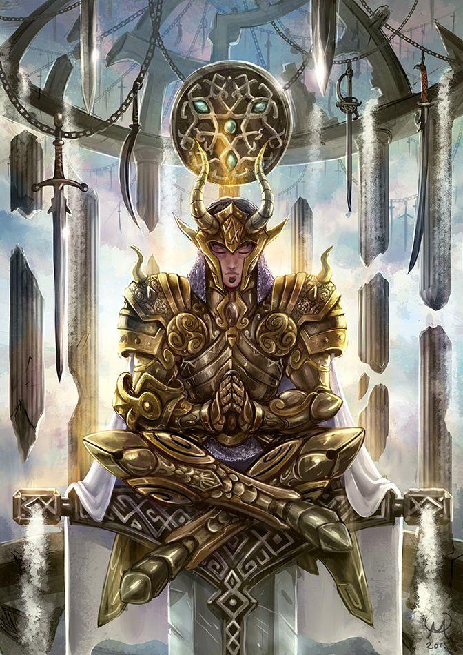 Épée Palace - Tristan par Maxa-art