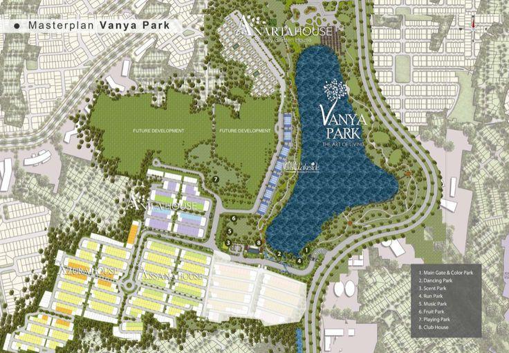 Fasilitas : 4.Garden 5.Swimming Pool 6.Danau alami Vanya Park seluas 3 hektar