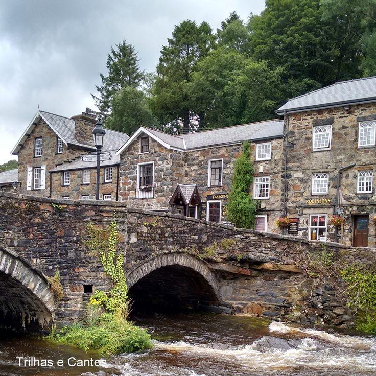 Beddgelert: uma linda cidadezinha no Pais de Gales