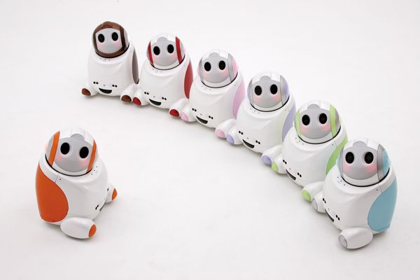 Adorable/creepy and necessary personal robotsPhotos, Life, Gadgets, Personalized Robots, Charms Robots, Papero Nec, Adorable Creepy, Robots Design, Les Robots