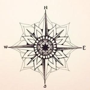 mandala compass - Google Search by lesa