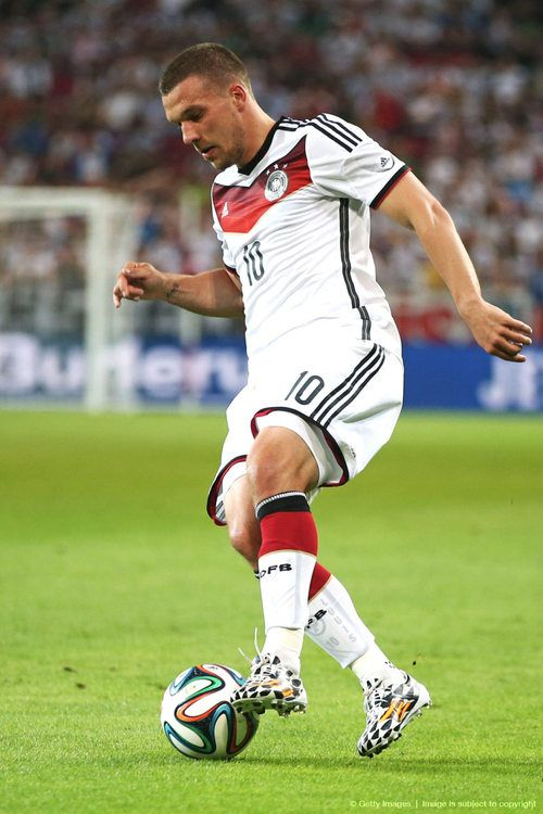 Lukas Josef Podolski; born Łukasz Józef Podolski on 4 June 1985 is a German footballer who plays as a forward for Premier League club Arsenal and the Germany national team.
