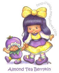 berry fairies character from strawberry shortcake