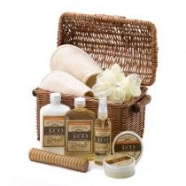 My spouse and I are looking for some bath kits to give out at a little end-of-the-summer party we're having. I really like this one because it contains more than just soaps. Everyone loves getting slippers and a massage tool plus the wicker basket can be used for other things.