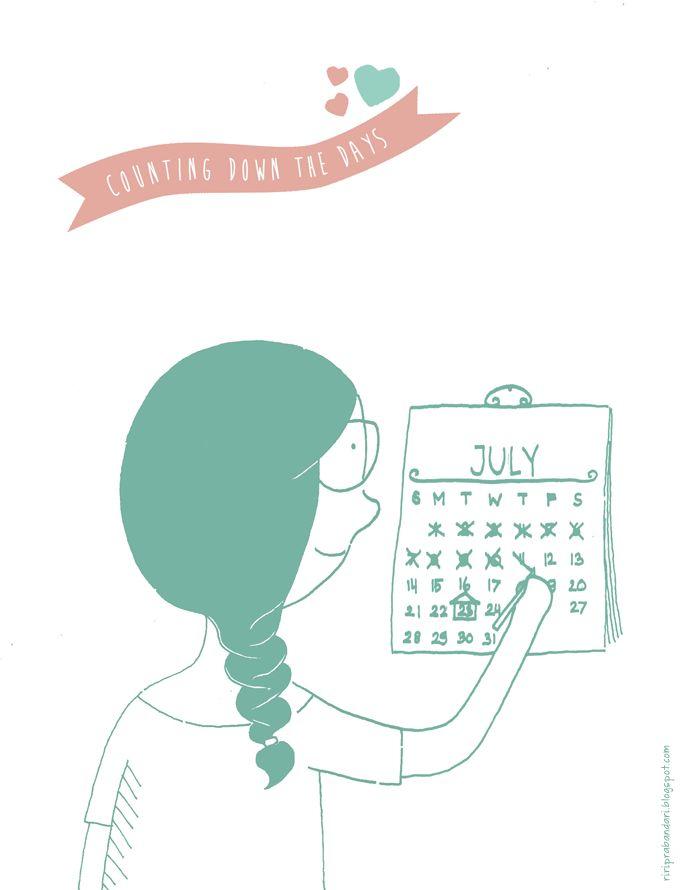 Riri Prabandari: counting down the days