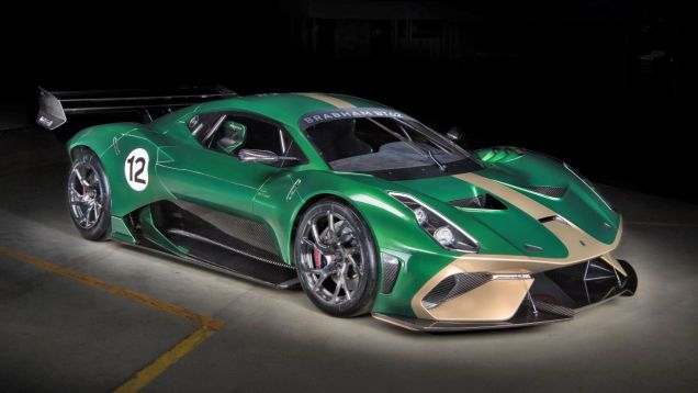 The 1 3 Million Brabham Bt62 Track Car Can Be Made Road Legal For Just 200 000 Extra Super Cars Supercar Prices New Cars