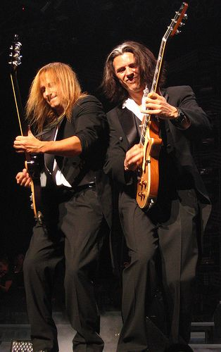 Tran-Siberian Orchestra.  THE best entertainers EVER.  I agree -- seen them in concert a few times here in Houston and they are awesome.