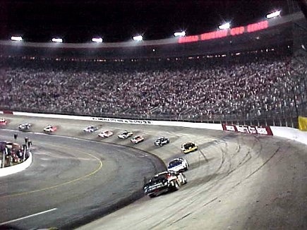 Bristol Motorspeedway, would love to see a race here