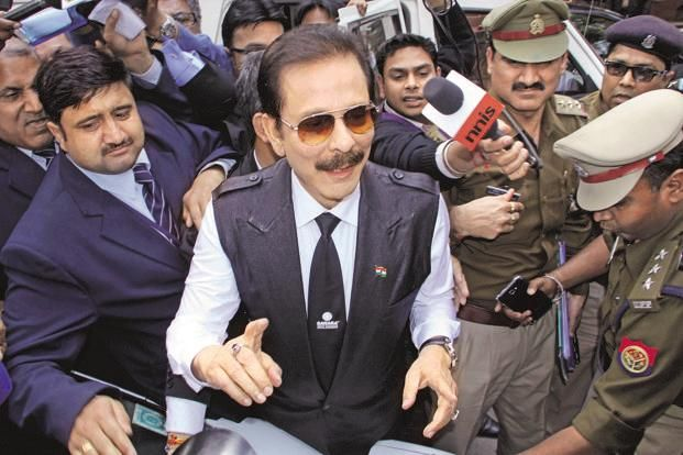 The Supreme Court also warned of consequences for Sahara chief Subrata Roy should the cheque be dishonoured. Photo: HT
