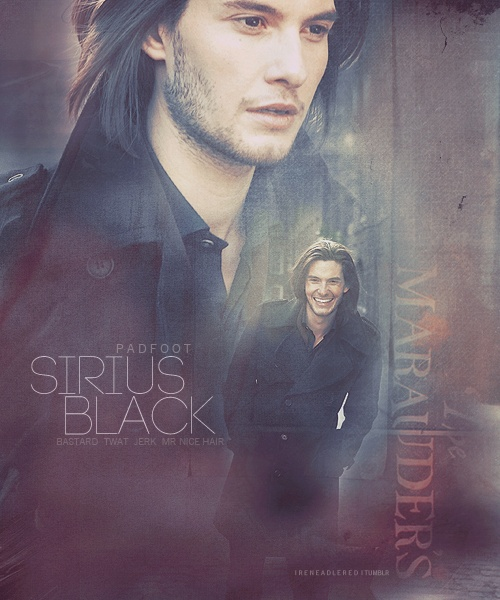 Sirius Black- Ben Barnes. If you like Ben Barnes, then I made Ben Barnes board too :)