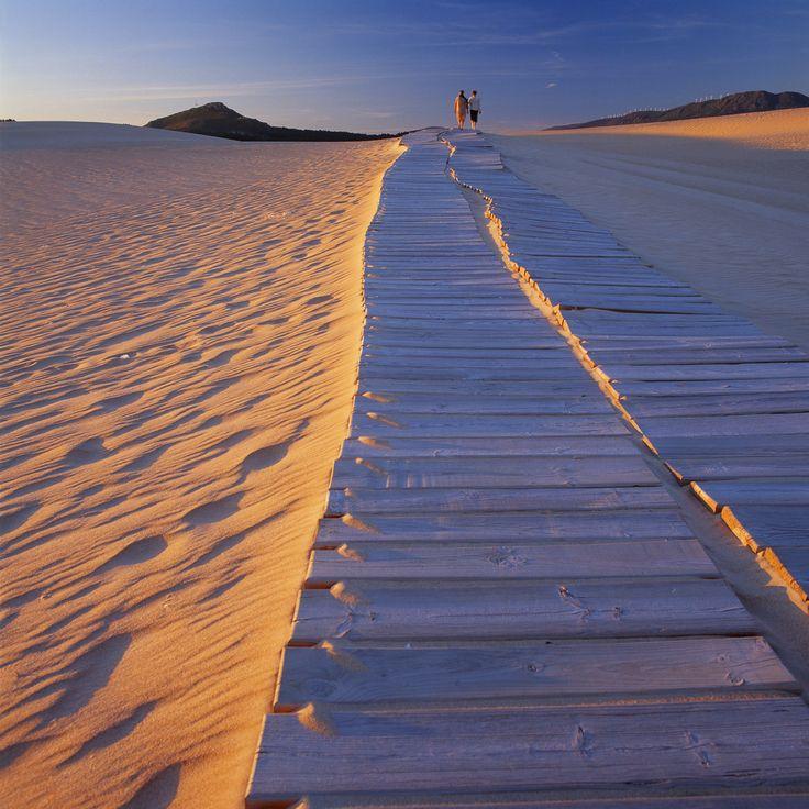 #Corrubedo, un complejo dunar gallego. El Parque natural dunas de Corrubedo está en la peninsula de Barbanza en las Rías Bajas gallegas