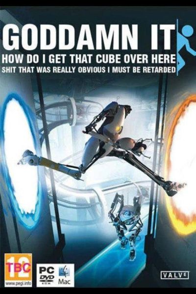 How I constantly feel playing #Portal