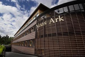 Scandic Dyreparken. Hotellet er bygget som Noas Ark og ligger i Dyreparken i Kristiansand.