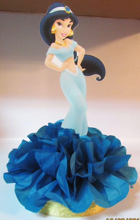 Aladdin Jasmine Princess Centerpiece  by KhloesKustomKreation, $12.00