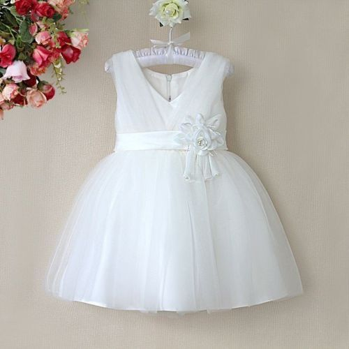 New-Girls-Flower-Girl-Bridesmaid-Party-Christening-Prom-Dress-Dresses-1-11Year