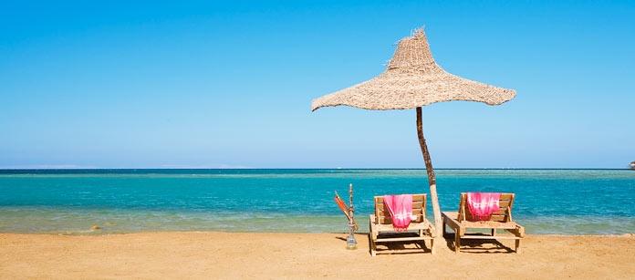 Hurghada- en riktig oas för oss nordbor. En liten fiskeby som har förvandlats till en av Egyptens populäraste badorter. Här finns sevärdheter, härliga badstränder, golf- och dykmöjligheter!