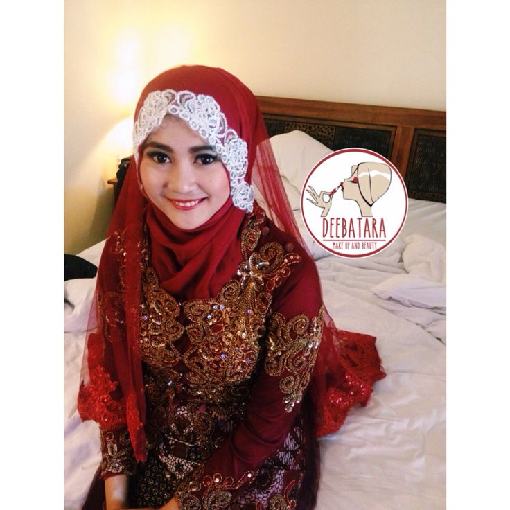 Hijab style for prewedding session