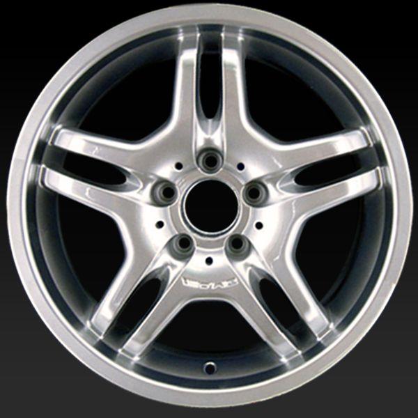 "Mercedes AMG wheels for sale 2003-2006. 18"" AMG Hypersilver rims 65313 - http://www.rtwwheels.com/store/shop/mercedes-amg-wheels-for-sale-amg-hypersilver-65313/"