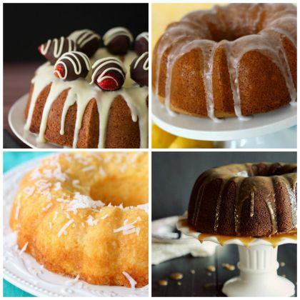Nothing But Bundt Cake: 20 Sweet & Indulgent Bundt Cake Recipes  Spoonful