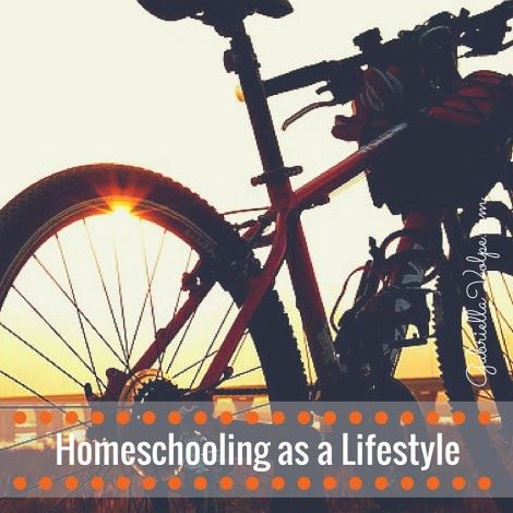 Homeschooling as a Lifestyle