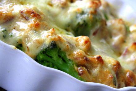 LCHF, broccoligratäng - Jennys Matblogg