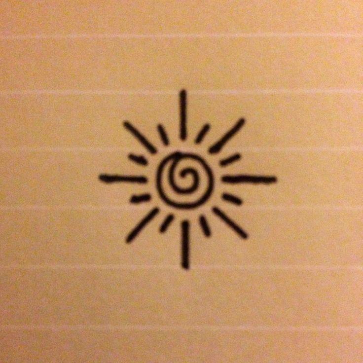small sun tattoos designs on wrist - Google Search