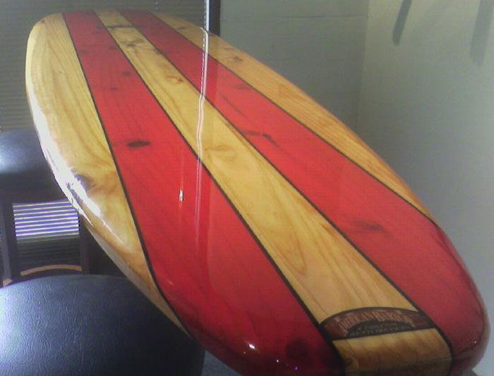 Surfboard Bar Top
