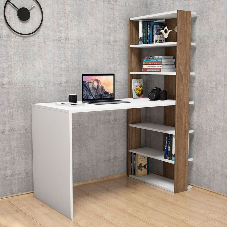 Scrivania Con Libreria. Scrivania Modello Mipiace Con Cassetti In ...