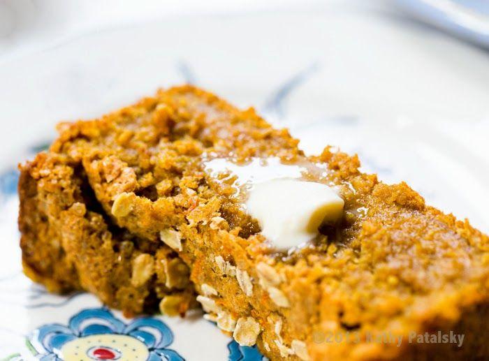 oatmeal oatmeal bread pumpkin oatmeal pumpkin loaf gluten free pumpkin ...