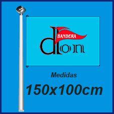 Bandera Publicitaria 150x100cm. Comprar Banderas baratas de publicidad y personalizadas.