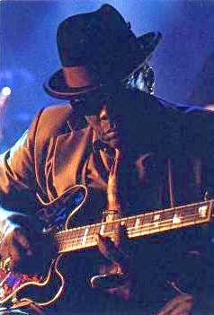 John Lee Hooker (1917 - 2001) Guitarist, Mississippi delta blues great