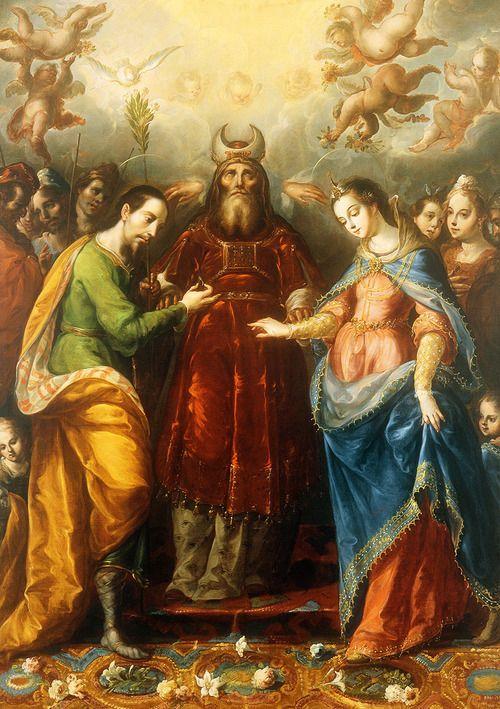 The Betrothal of the Virgin to Saint Joseph, Cristóbal de Villalpando