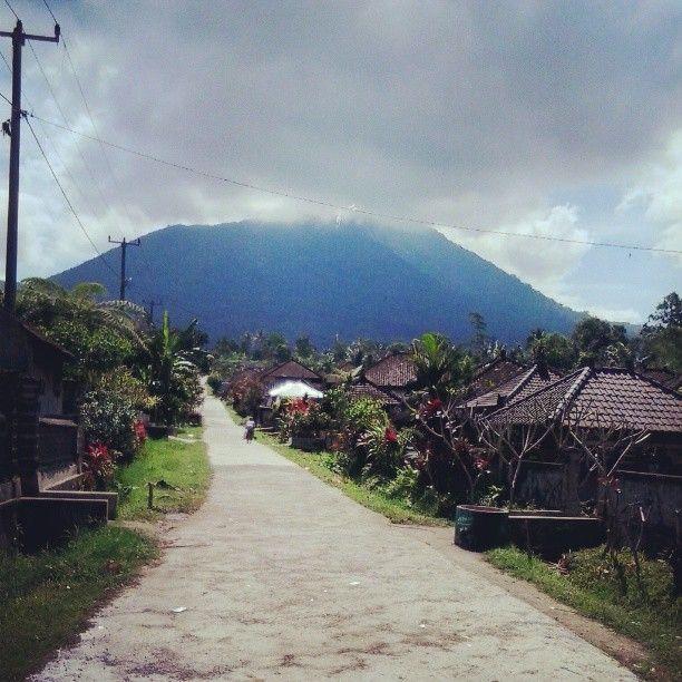 batukaru mountain at angsri village BALI