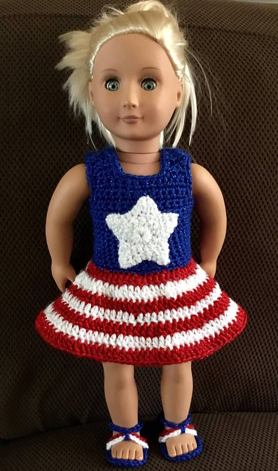 "The All ""American"" Girl Doll Dress"
