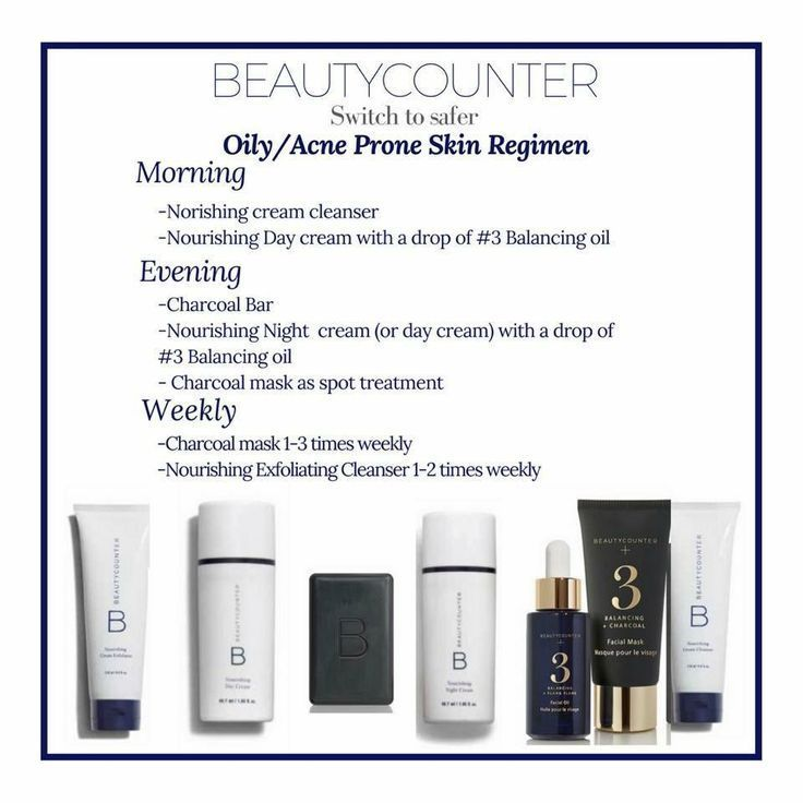 A Beautycounter Skincare Routine For Oily Acne Prone Skin Make These Products A Part Of Your Daily Skincare Ro Acne Prone Skin Dry Skin Care Skin Care Secrets