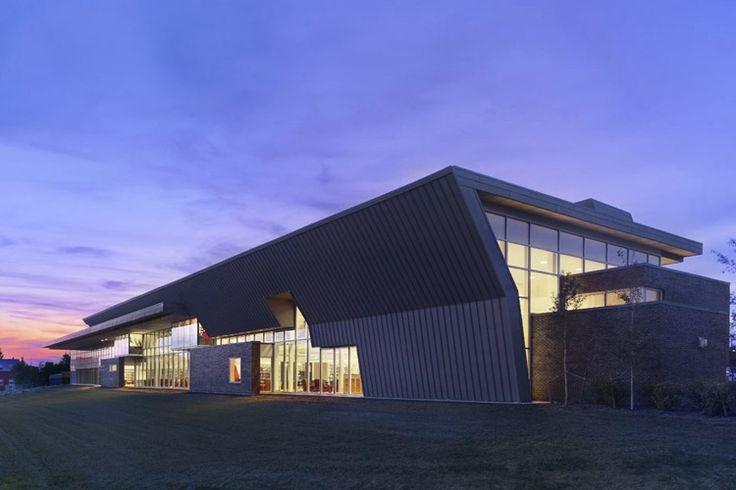 Montrose Cultural Centre, Grande Prairie, Alberta, Teeple Architects