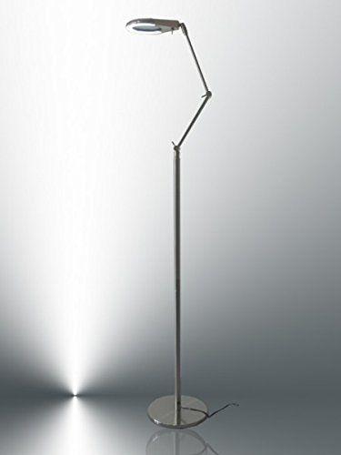 Kiom 10051 Lina Lampe loupe LED CCFL sur pied Blanc lumière du jour: Cet article Kiom 10051 Lina Lampe loupe LED CCFL sur pied Blanc…