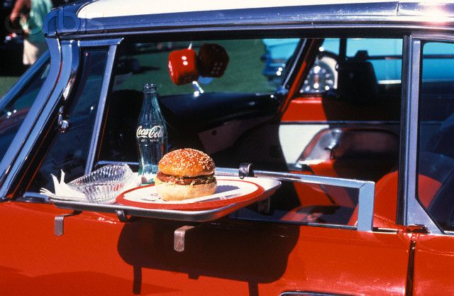 Roller Skate Sneakers >> Food Tray On Antique Car Window | 50's Diner/Waitress | Pinterest | Cars, Antiques and PlayStation
