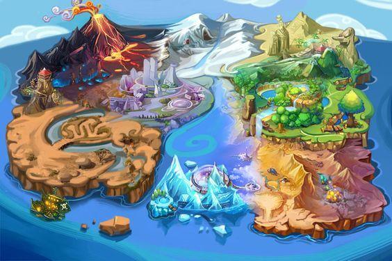 unfinished world map by ~zhetenghui: