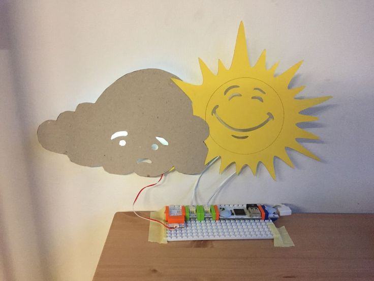 What's the Weather Tomorrow?- With LittleBits